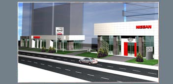 Nissan Car Showroom